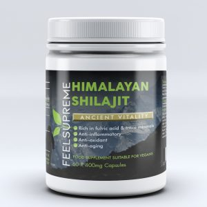 Himalayan Shilajit by Feel Supreme. 60 x 400mg capsules