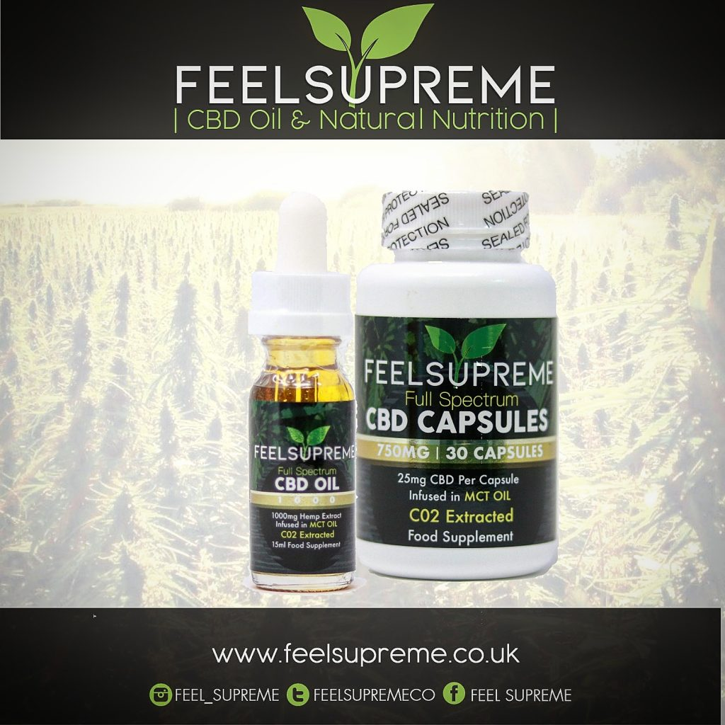 Natural ways to improve your health- Feel Supreme CBD Products